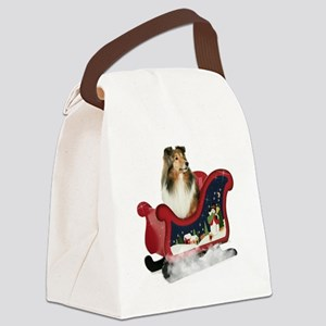 GraceSleigh Canvas Lunch Bag