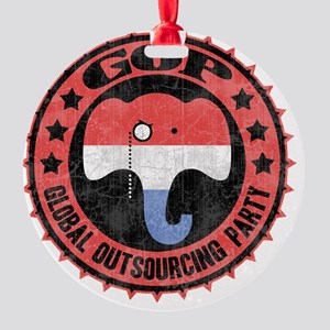 gop-outsource-pty-T Round Ornament
