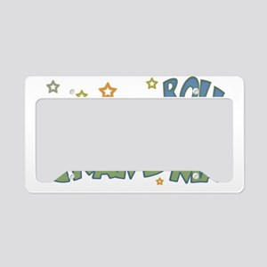 ROCKNROLLGRANDMA copy License Plate Holder