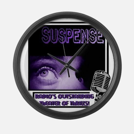 suspense Large Wall Clock