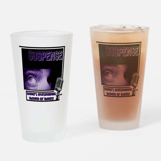 suspense Drinking Glass