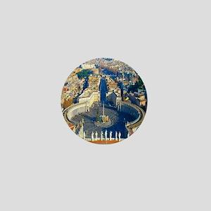 (sq) Rome-Piazza Mini Button