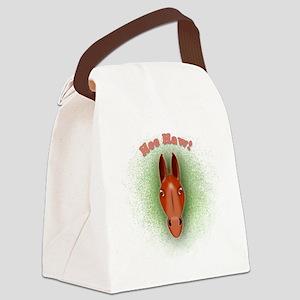 Head-10x10_apparel Canvas Lunch Bag