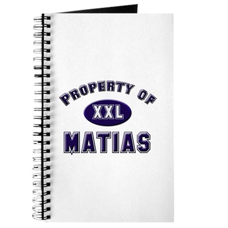 Property of matias Journal
