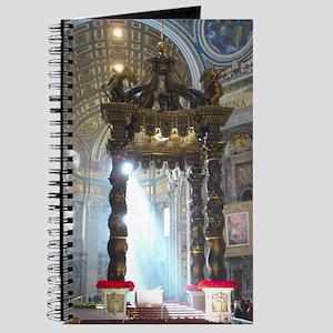 (half sheet) St Peters altar Journal