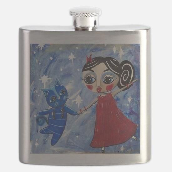 STAR POWER - LORALAI - Blue Cat Series Flask
