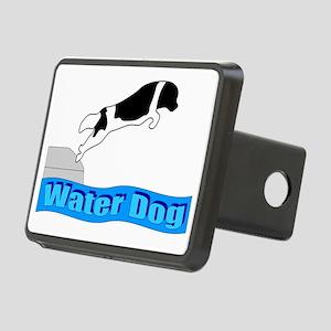 Water Dog - Landseer Rectangular Hitch Cover