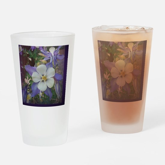 Columbines mp Drinking Glass