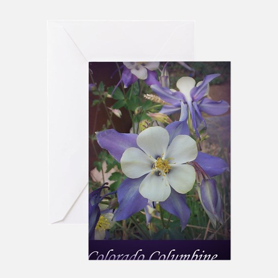 Columbines mp Greeting Card