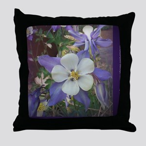 Columbines mp Throw Pillow