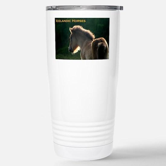 icehorsesbig Stainless Steel Travel Mug
