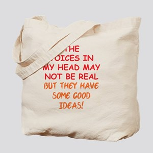 voicesinhead_rnd2 Tote Bag