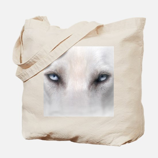 Blue_Eyes_Feathered_CP Tote Bag
