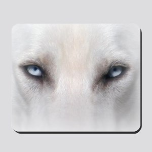 Blue_Eyes_Feathered_CP Mousepad