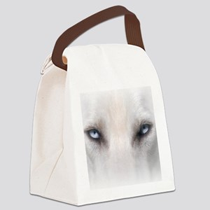 Blue_Eyes_Feathered_CP Canvas Lunch Bag