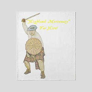 highland-mercenary001c1a Throw Blanket
