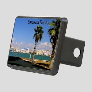 Palm Trees SarasotaFlorida Rectangular Hitch Cover