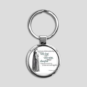 JANUARY2011 copy Round Keychain