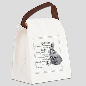 NOVEMBER copy Canvas Lunch Bag
