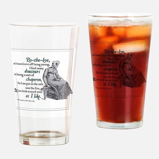 NOVEMBER copy Drinking Glass
