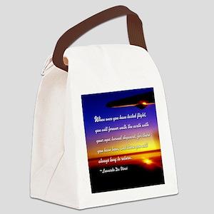 DaVincisquare Canvas Lunch Bag