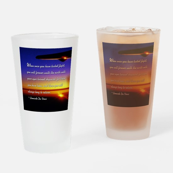 DaVincisquare Drinking Glass