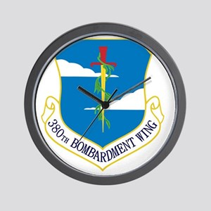 380th Bomb Wing - Blue Wall Clock