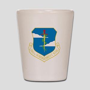 380th Bomb Wing Shot Glass
