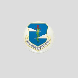 380th Bomb Wing - Blue Mini Button