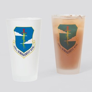 380th Bomb Wing - Blue Drinking Glass