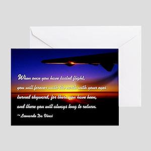 flyingDaVinci Greeting Card