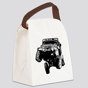 Jeep Wrangler Poser (TJ) Canvas Lunch Bag