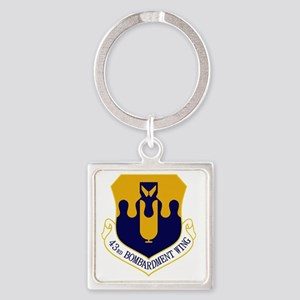 43rd Bomb Wing Square Keychain
