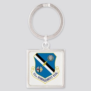 93rd Bomb Wing Square Keychain