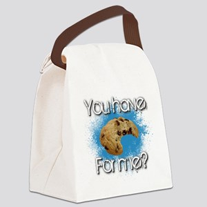 Cookie Canvas Lunch Bag