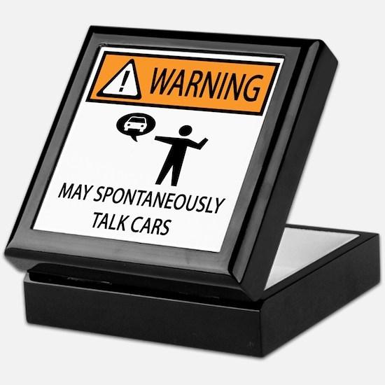 TALK CARS Keepsake Box