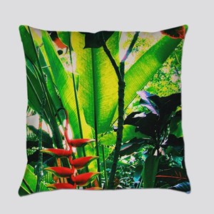 Tropical Morning Everyday Pillow