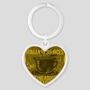 HR Heart Keychain