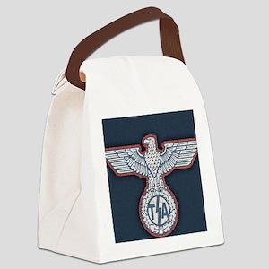 tsa-eagle-OV Canvas Lunch Bag