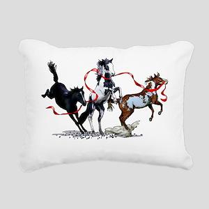frisky-T copy Rectangular Canvas Pillow