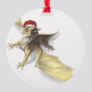 Lil Dragon Round Ornament