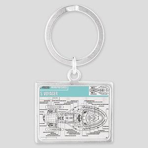Voyager Landscape Keychain