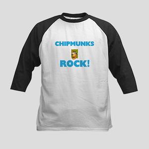 Chipmunks rock! Baseball Jersey