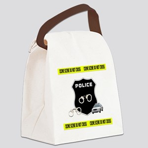 Police Crime Scene Canvas Lunch Bag