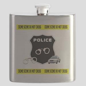 Police Crime Scene Flask