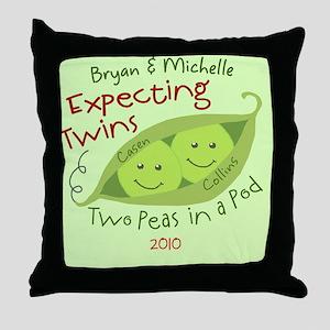 BryanandMichelle Throw Pillow