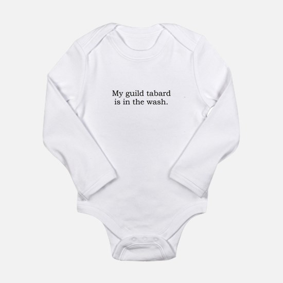 Guild Tabard Washed Infant Creeper Body Suit