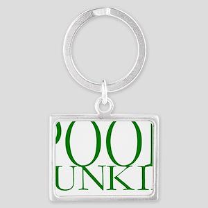 Pool Junkie Landscape Keychain