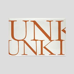 Junk Junkie Rectangle Magnet