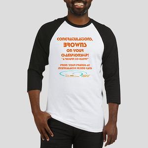 Browns IGFC trans color  Baseball Jersey